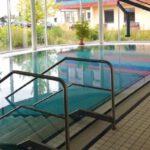 Wasserbecken im Robert-Koch-Krankenhaus in Apolda