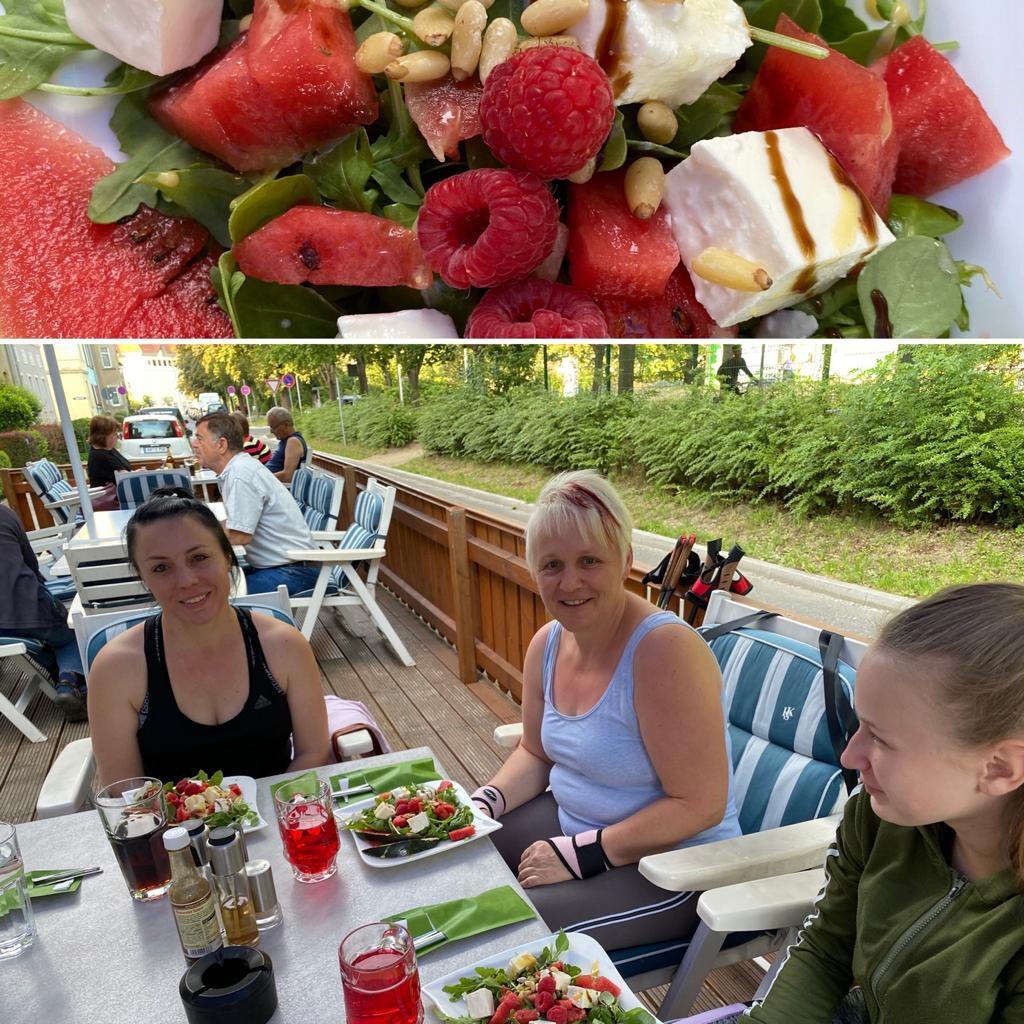 Gesund Essen nach den Nordic Walking